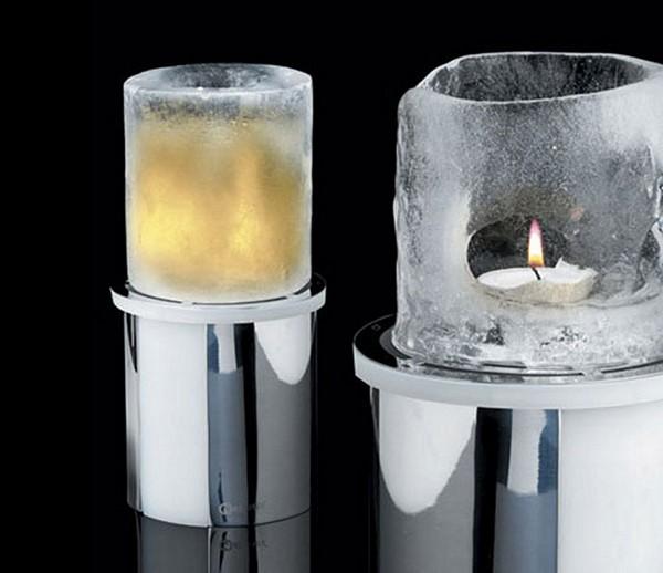Лед и пламя. Ледяной светильник Thaw Ice Candle