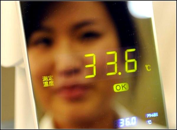 Зеркало-термометр Thermo Mirror