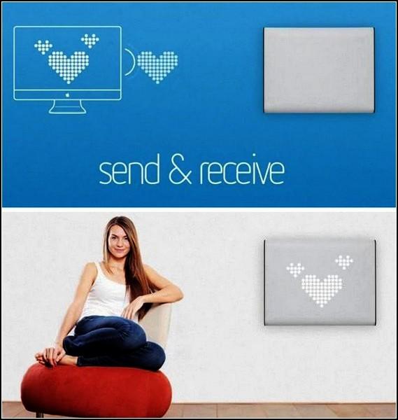 TiLumi Talk, интерактивный светильник-часы для общения и настроения