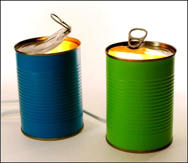 Tin Can Lights, банка со светом