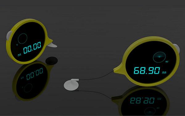Концептуальная рулетка с присоской Touch Tape Measure
