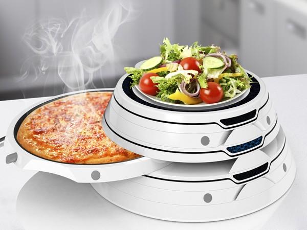 Башня-микроволновка Tower Food Warmer для моментального разогрева еды