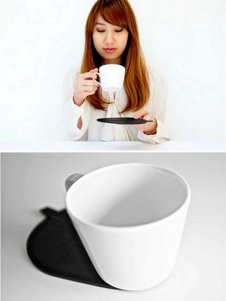 Тень от чашки не только эстетична, но и практична