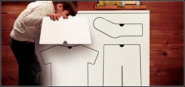 Training Dresser. Детский комод с подсказками для одежды