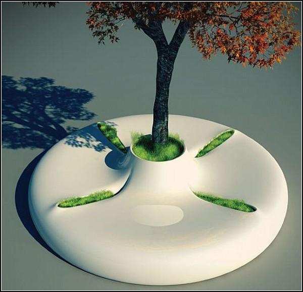 Скамейка Tree Bench для большого города