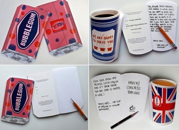 Tricky Notebooks. Блокноты оригинального образца