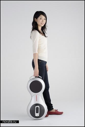 Компактный 10-килограммовый концепт U3-X от Honda