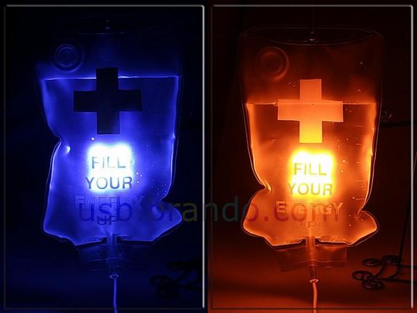 Drip LED Light, светильник-капельница, работающий от usb