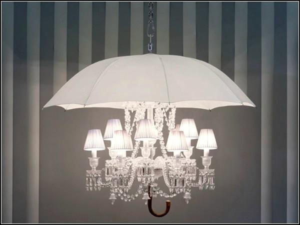 Marie Coquine Chandelier, хрустальная люстра-зонт для Baccarat