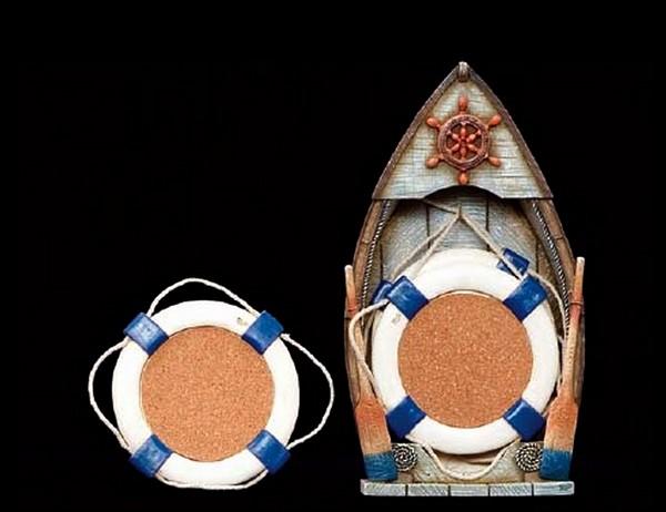Подставки в виде лодки и спасательного круга