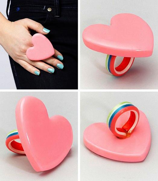 Кольцо-леденец для сладкой девочки