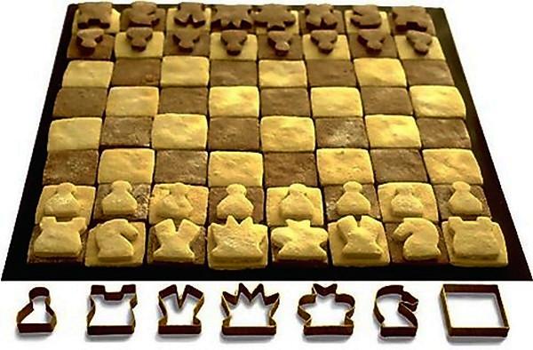 Шахматные фигуры, которые едят в буквальном смысле слова