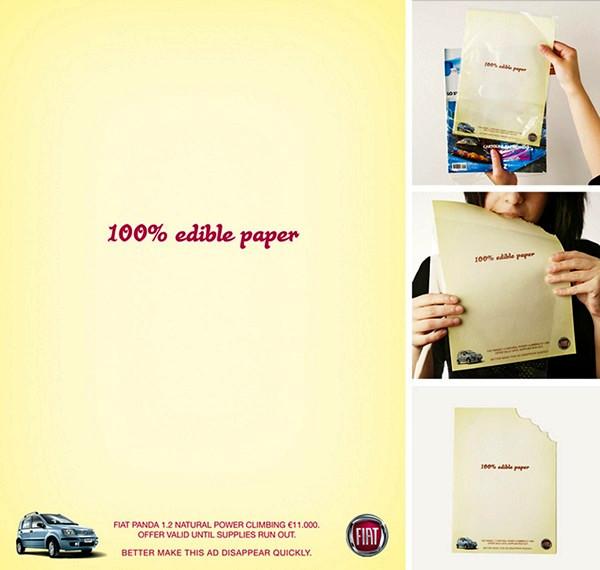 Съедобная бумага для записей