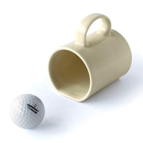 Кружка, с которой можно играть в гольф