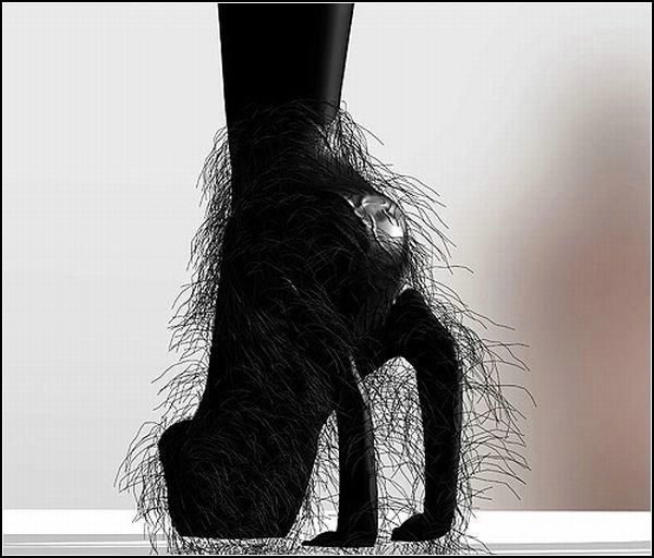 Волосатые туфли
