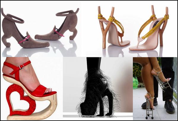 Самые необычные туфли от разных дизайнеров. Часть вторая