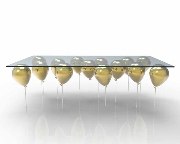 UP Coffee Table. Журнальный столик на воздушных шариках