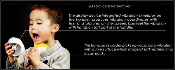 Концептуальное устройство обучит глухих детей речи и интонациям