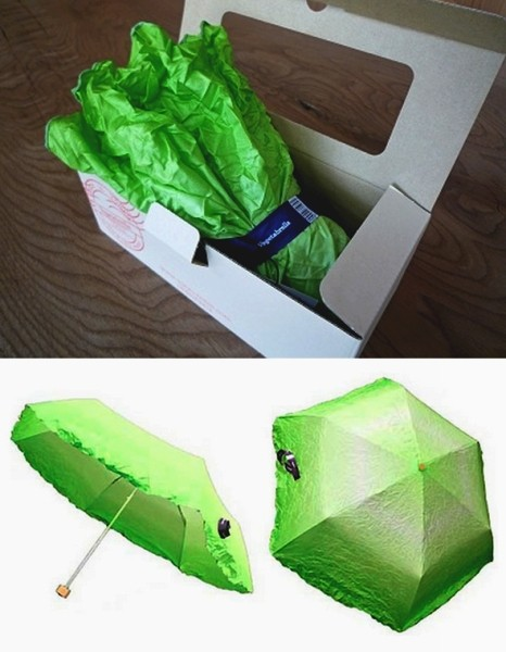 Vegetabrella: зонт-овощ от Yurie Mano