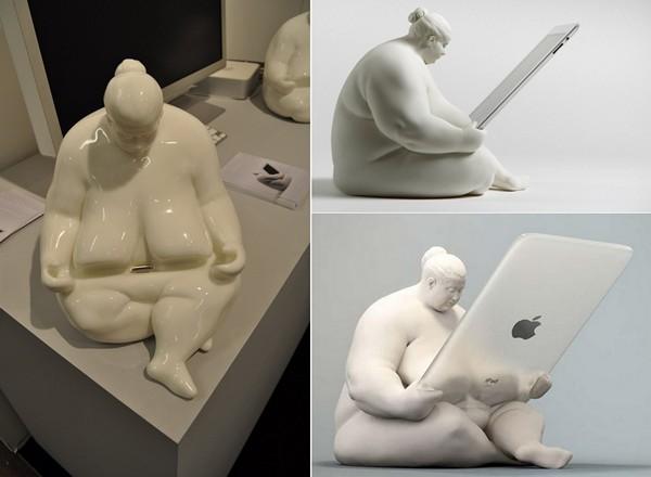 Venus of Cupertino: док-станция для iPad как произведение искусства
