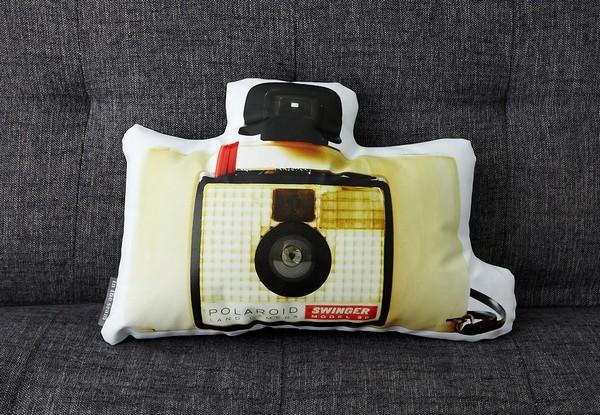 Винтажные фотоаппараты Vintage Cameras в виде дизайнерских подушек