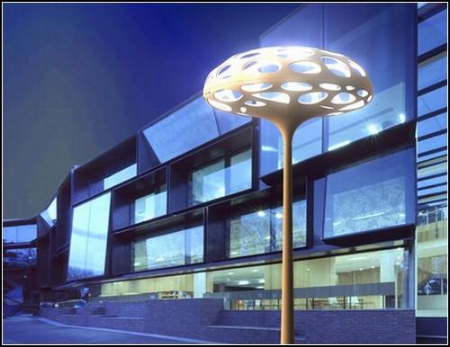 Уличный *гриб*-светильник Voronoi Lamp