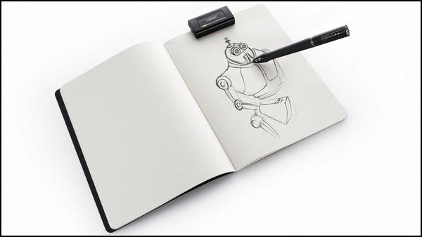 Wacom Inkling, с бумаги на компьютер - в один клик мышкой