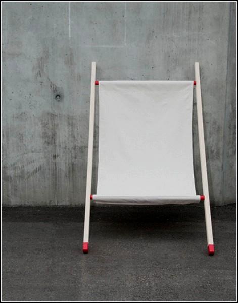 Новое применение для носилок. Двуногое кресло Wall Chair