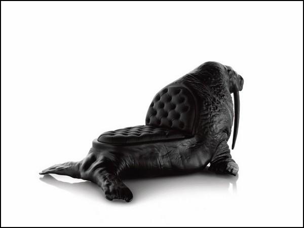 Walrus Chair. Кресло-морж из серии Animal Chair collection Максимо Риеры