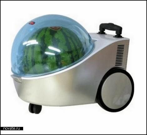 Например, холодильник для арбуза японской компании Joybond.