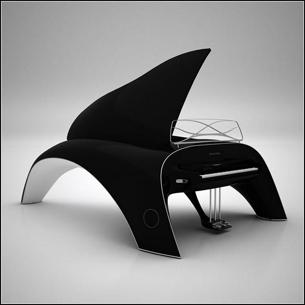 Инновационный рояль Whaletone от Роберта Майкута (Robert Majkut)