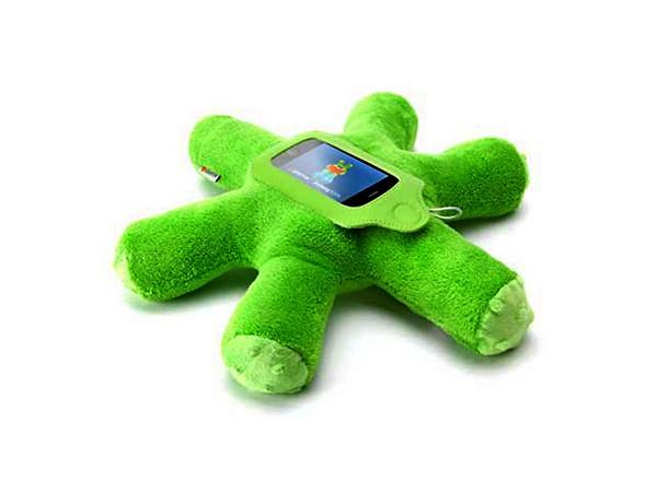 Griffin Woogie: зеленая плюшевая *клякса* для защиты iPhone и iPod