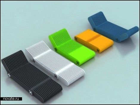 Многофункциональный лежак под названием X-Code