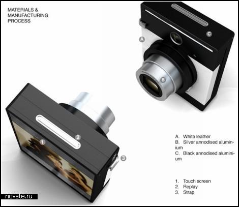 Концептуальный аппарат только для хороших фотографий