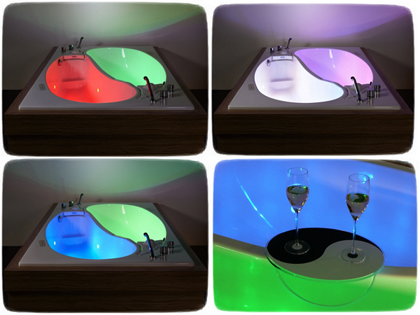 Yin Yang Bathtube: необычная ванная для влюбленной пары