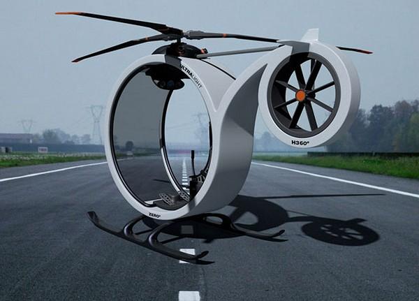 Мини-вертолет Zero Helicopter для передвижения над городом