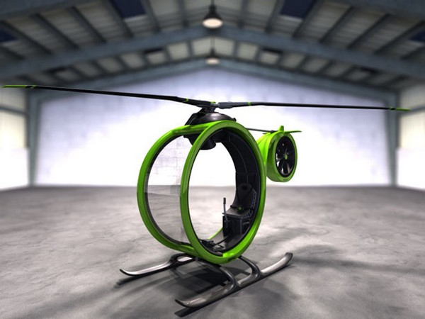 Одноместный вертолет Zero Helicopter от Гектора дель Амо
