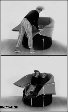 Кресло-конструктор ZIP от Monique Engelund