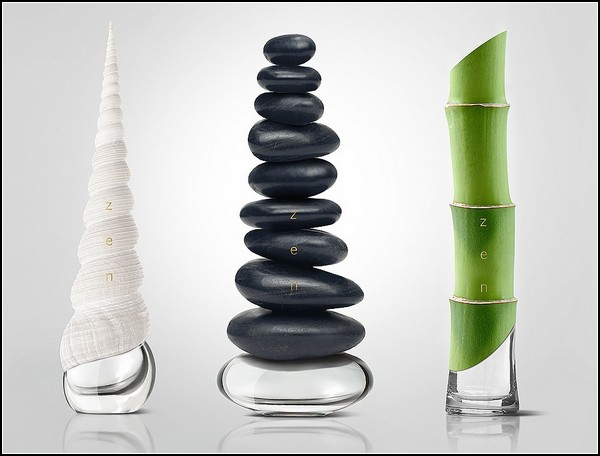 Концепт необычной упаковки для духов Zen Perfumes. Дизайн агентства GOOD