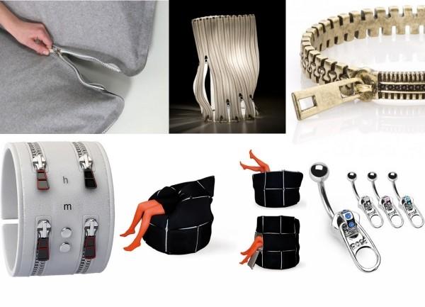"""Обзор дизайнерских предметов со встроенной """"молнией"""". Вторая часть zipper-коллекции"""