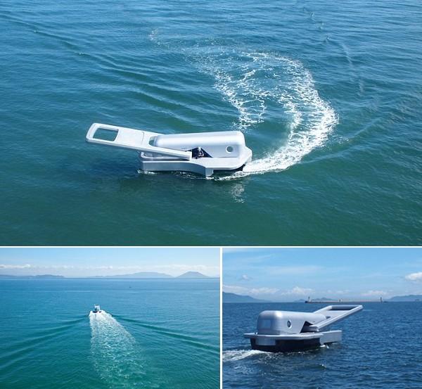 Моторная лодка Zipper Boat от Yasuhiro Suzuki