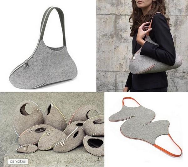 Zipper Bag, коллекция сумок от Josh Jakus