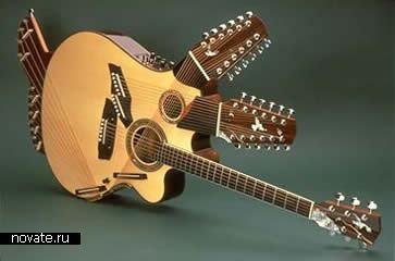 The Pikasso Guitar