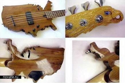 Смые необычные гитары