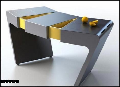 Раздвижной стол *Аккордеон* от Ольги Калугиной