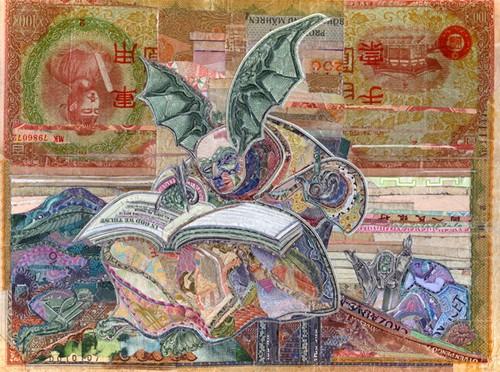 Картины из денег. Работа Кристофера Вайлда