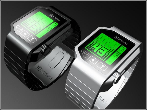 Часы с тестом на трезвость. Alcohol monitoring watch от Tokyoflash