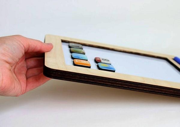 anaPad, деревянный аналог iPad для самых маленьких