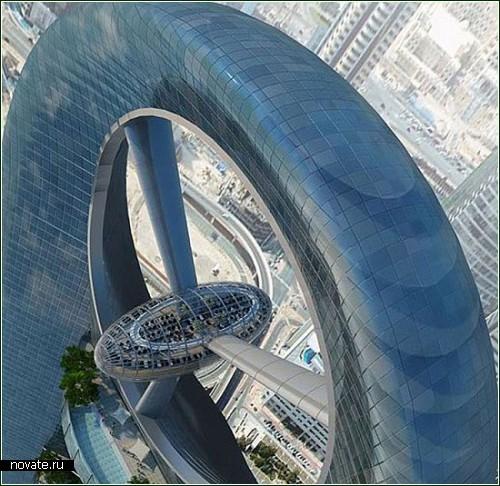 Проект 700-метрового и 125-этажного небоскреба в Дубаи