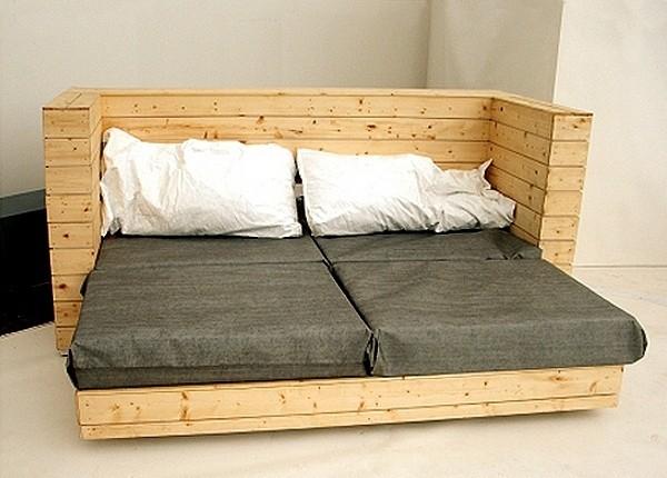 Как сделать из дивана кровать своими руками